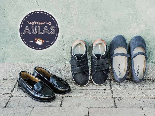 Sapatos para a Escola Pisamonas