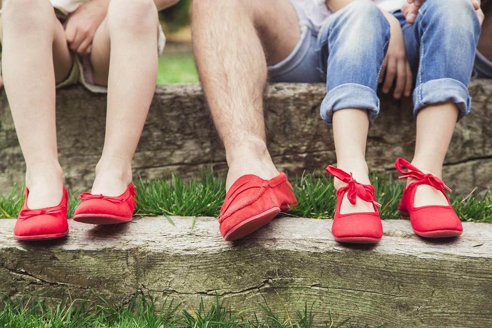 Cromoterapia nos seus sapatos