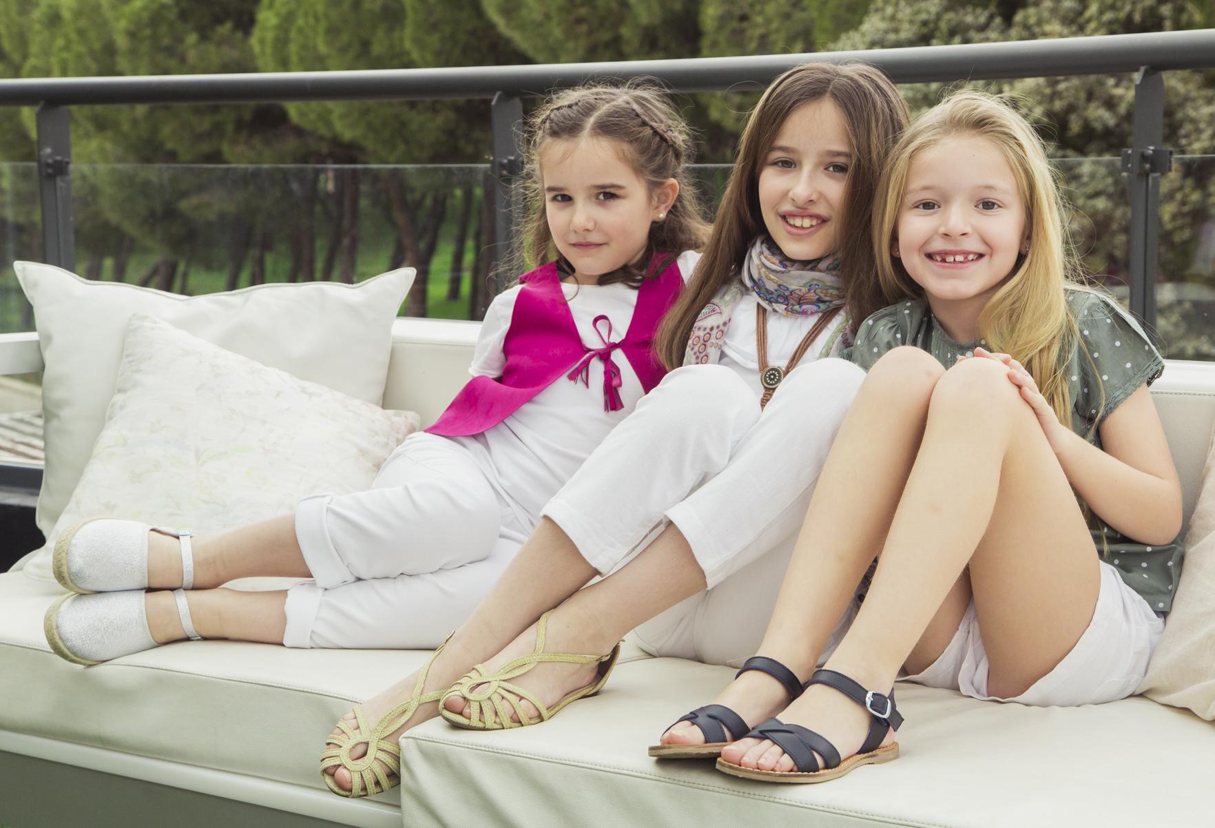 Sandálias Verão Meninas Pisamonas
