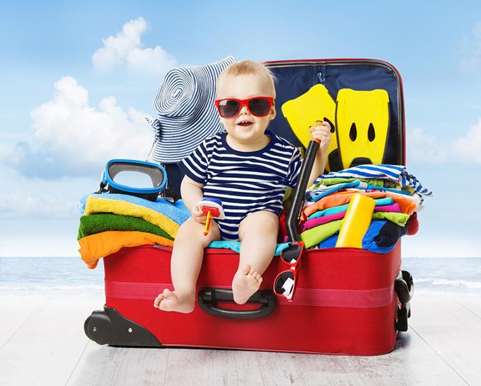 Viajar com bebés é possível