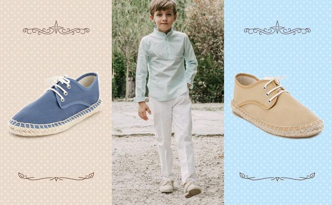 Sapatos de Menino para a Primeira Comunhão