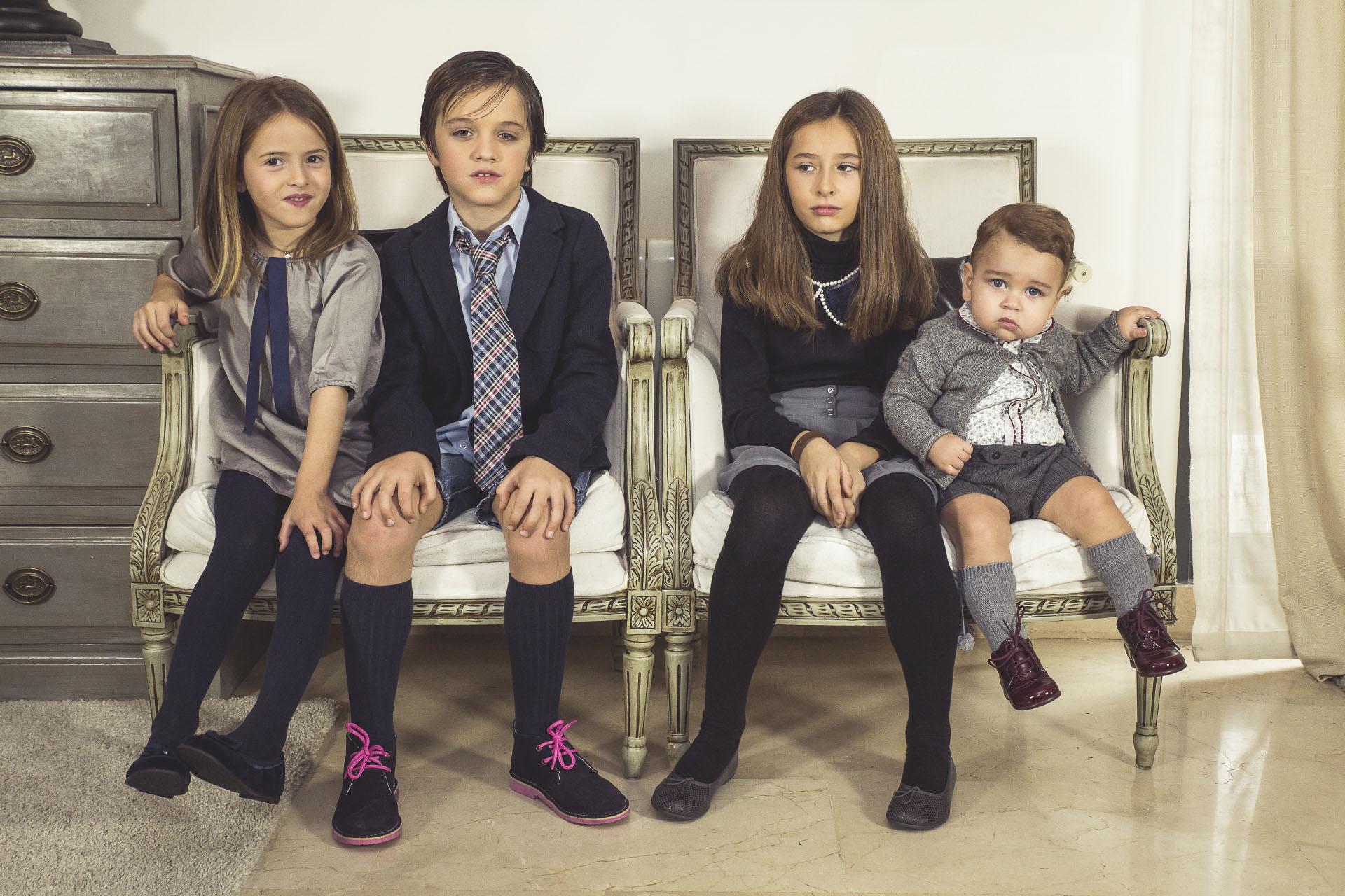 Calçado infantil clássico para ocasiões especiais