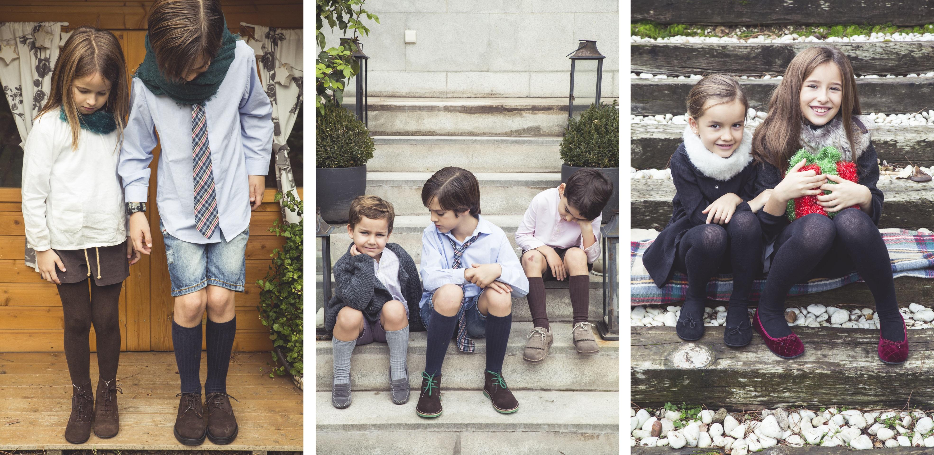 No Natal os seus filhos com sapatos Pisamonas