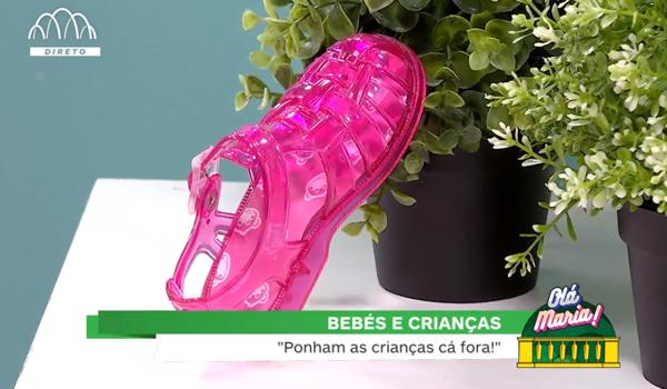 Sandálias de Borracha Praia e Piscina