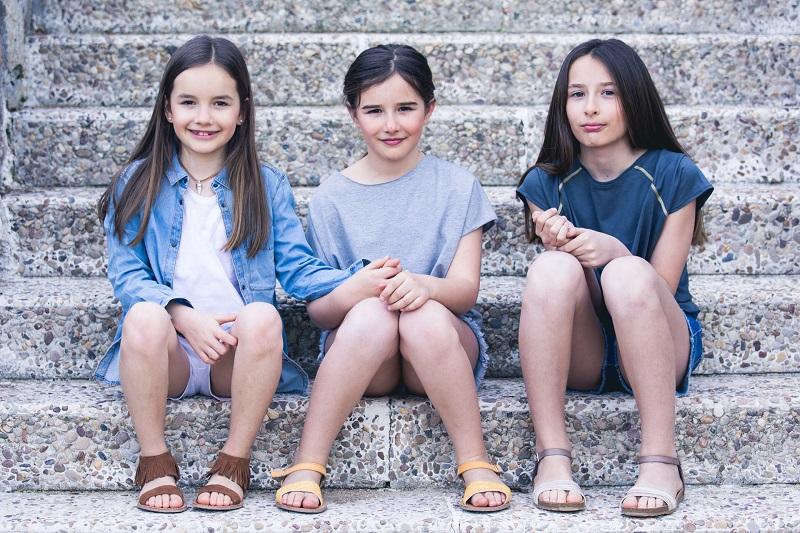 Sandálias para Menina Primavera Verão