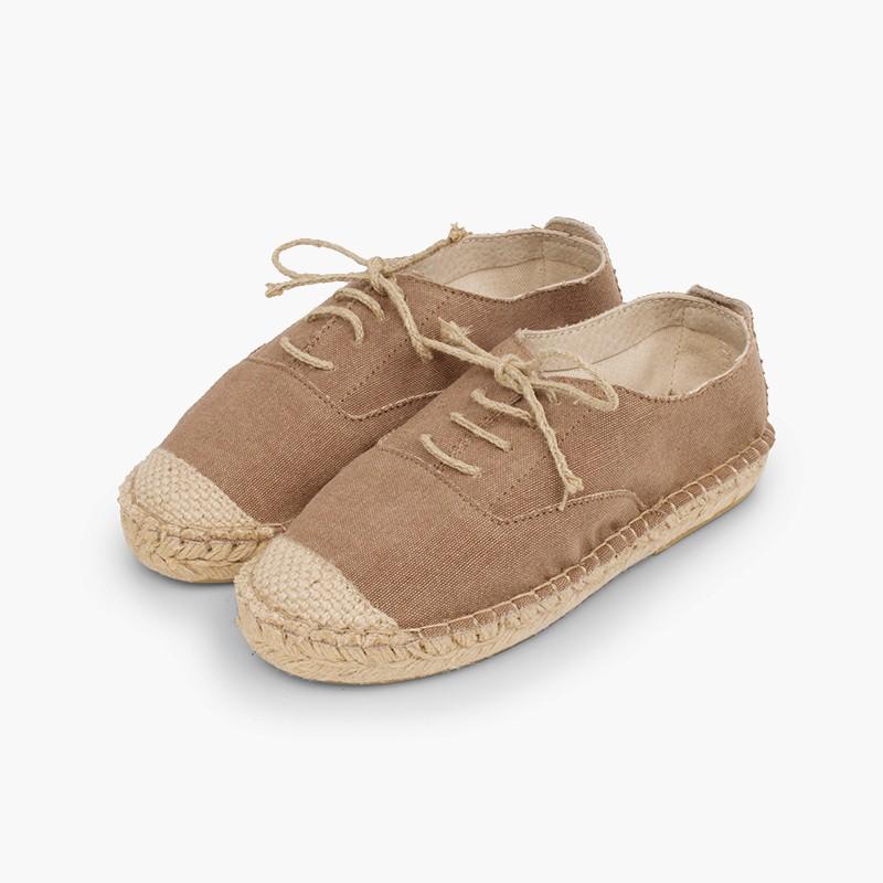 Sapatos de Juta Elegantes
