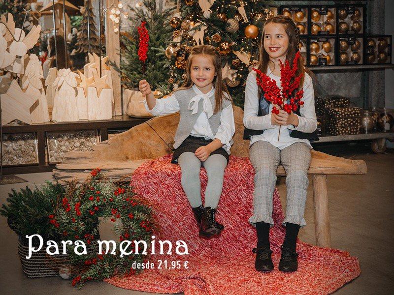 Calçado Meninas Pisamonas Natal