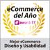Melhor Ecommerce Design e Usabilidade ESHOWAWARDS17 (2017)