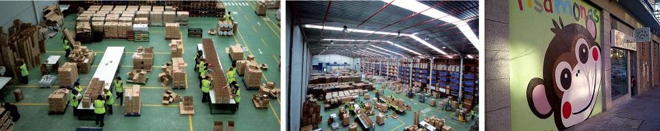 Centro Logistico Pisamonas Preparação Encomendas