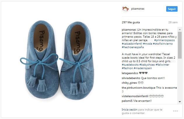 Instagram Pisamonas Botas Primeiros Passos