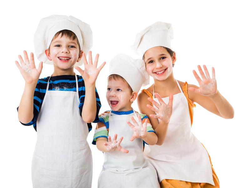 Cozinhe com os seus filhos!