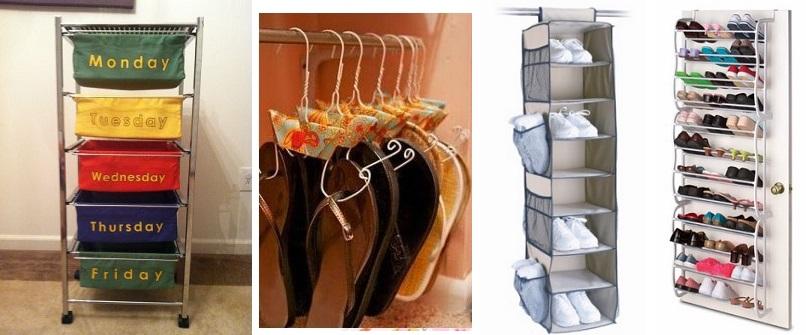 Organizador de roupa e sapatos crianças