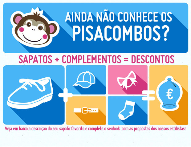 Novos packs descontos Pisacombos