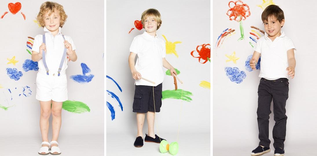 Estilo náutico: Riscas, brancos e azuis na Pisamonas Sapataria Infantil Online!
