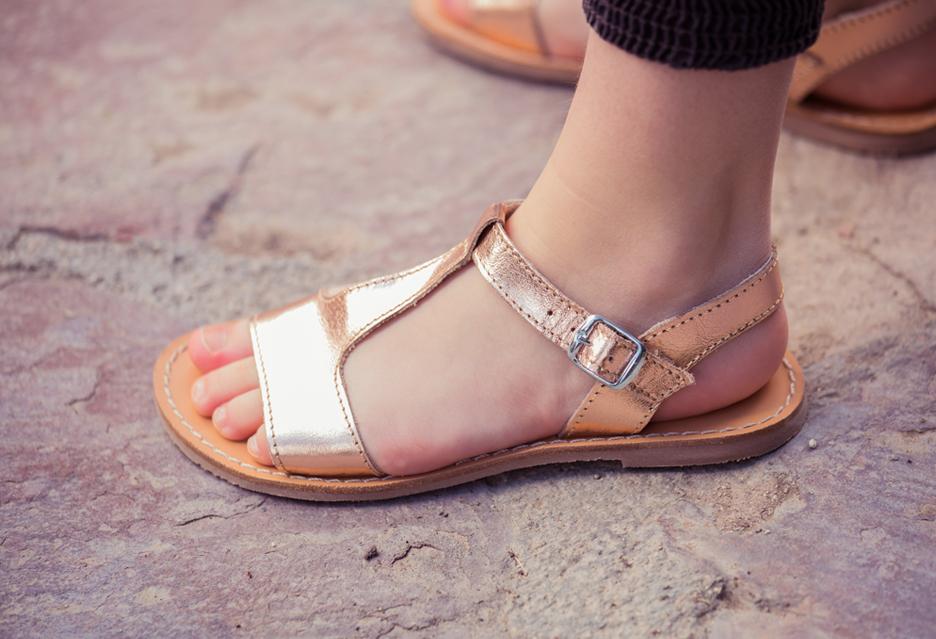 Como escolher sandálias