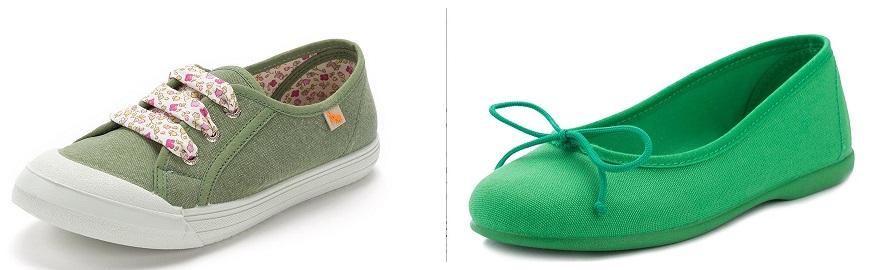 Cromoterapia Verde en Sapatos